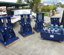 BHP 1200 ton Hydraulic jacking system1