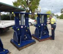 BHP Billiton 1200 Ton Hydraulic Jacking System 3