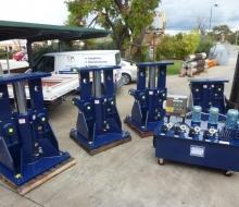 BHP Billiton 1200 Ton Hydraulic Jacking System 5
