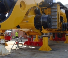 Joy Global Telescopic  Jacking system 2