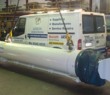 Repair Large Hydraulic Cylinders 2